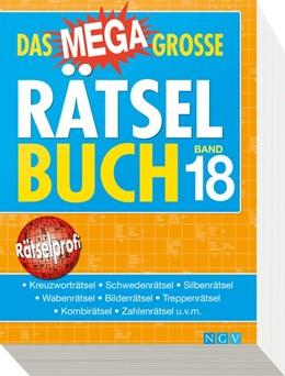 Abbildung von Das megagroße Rätselbuch Band 18 | 2019 | Mehr als 750 Rätsel im XXL-For...