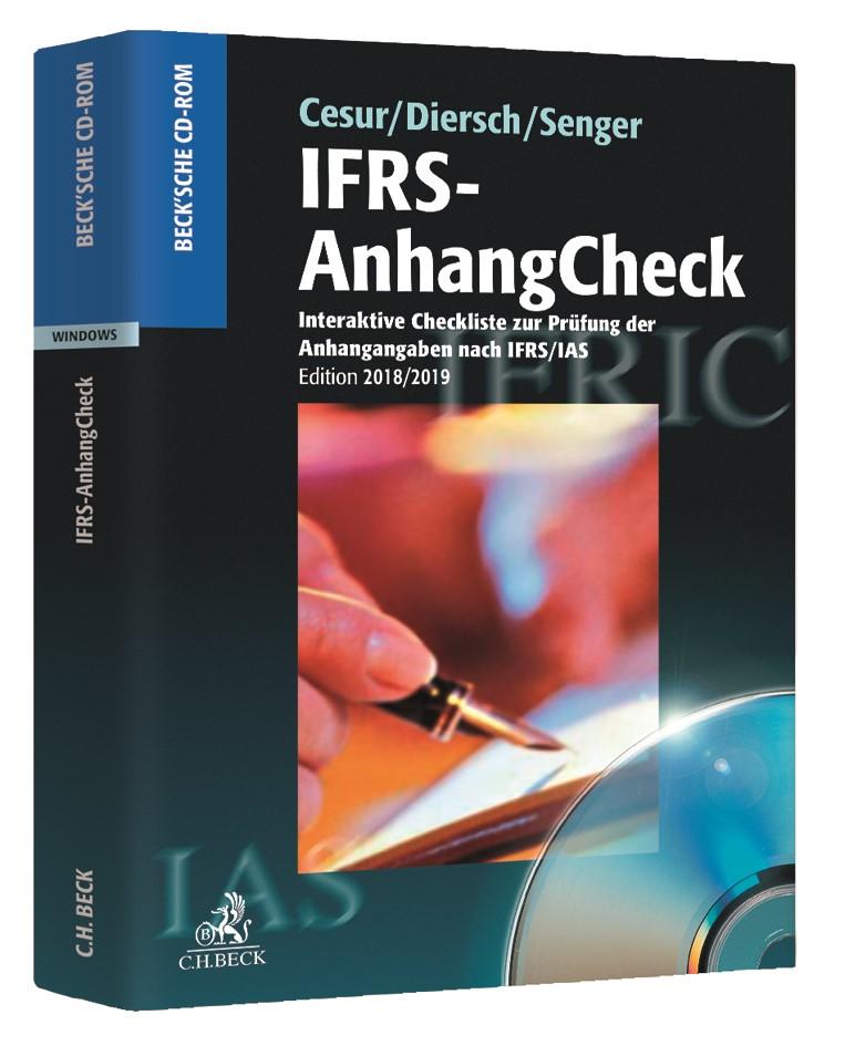 IFRS-AnhangCheck • DVD | Cesur / Diersch / Senger, 2019 (Cover)