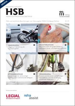 Abbildung von Fachinfo-Magazin - Hohe Schmerzensgeldbeträge (HSB) - Ausgabe 01/2019 | 1. Auflage | 2019 | beck-shop.de