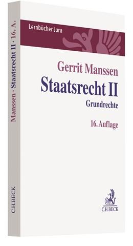 Abbildung von Manssen | Staatsrecht II | 16. Auflage | 2019