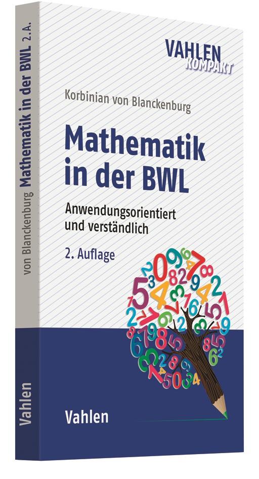 Mathematik in der BWL | v. Blanckenburg | 2. Auflage, 2019 | Buch (Cover)