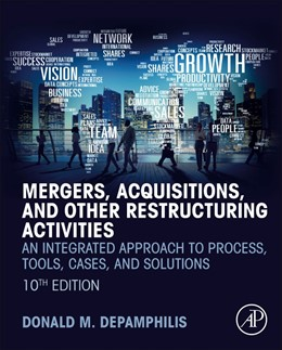 Abbildung von DePamphilis | Mergers, Acquisitions, and Other Restructuring Activities | 10. Auflage | 2019 | beck-shop.de
