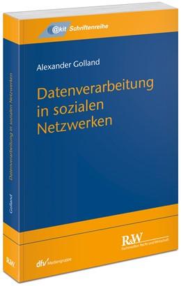 Abbildung von Golland | Datenverarbeitung in sozialen Netzwerken | 1. Auflage | 2019 | beck-shop.de