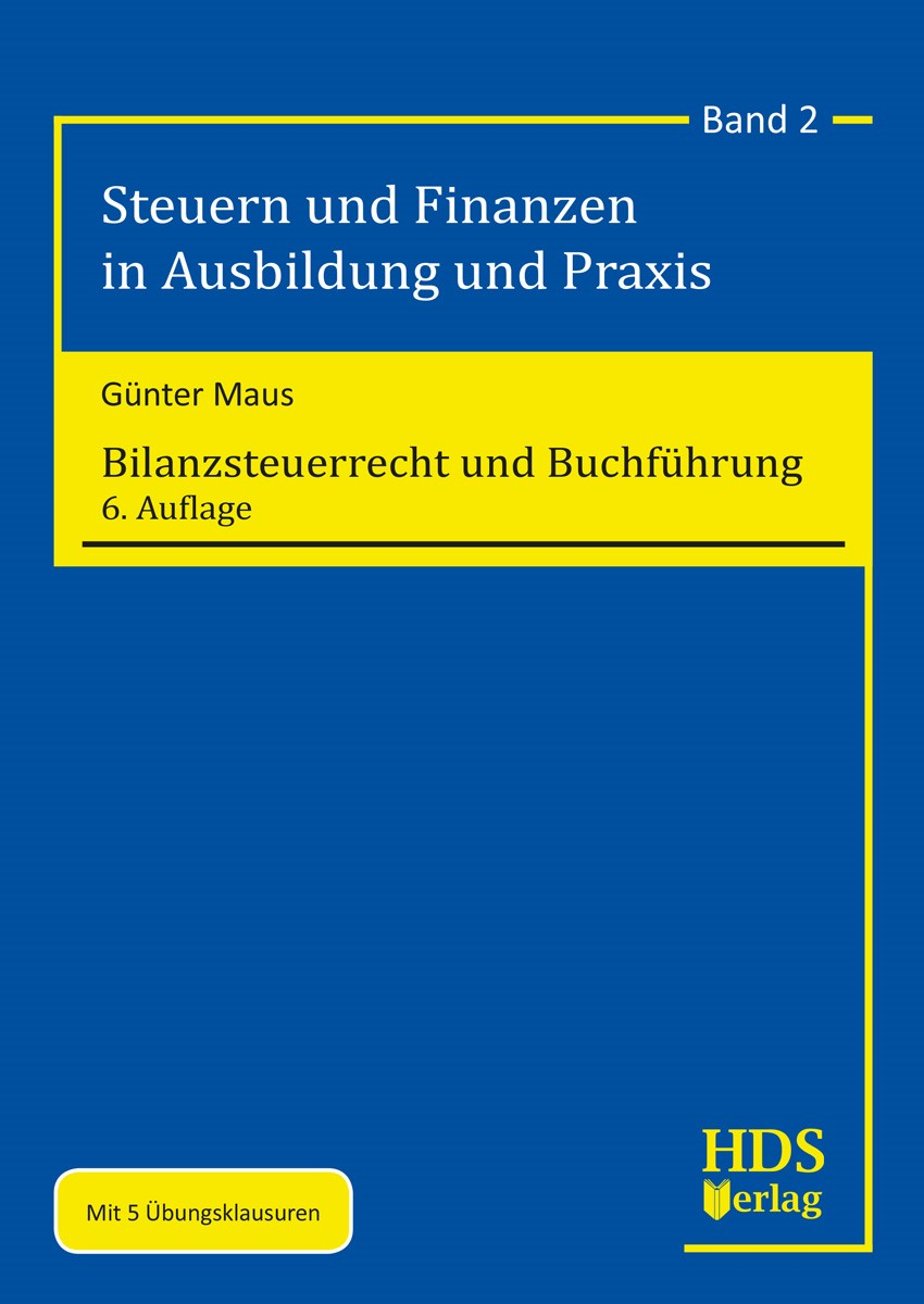 Abbildung von Maus   Bilanzsteuerrecht und Buchführung   6. Auflage   2019