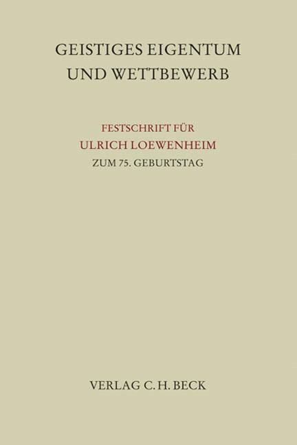 Schutz von Kreativität und Wettbewerb, 2009   Buch (Cover)
