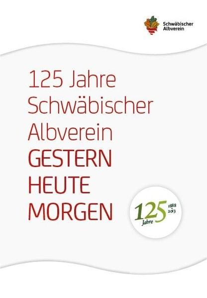 125 Jahre Schwäbischer Albverein, 2013 | Buch (Cover)