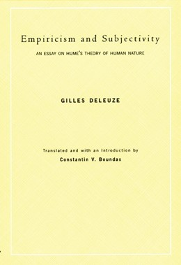 Abbildung von Deleuze | Empiricism and Subjectivity | 2001
