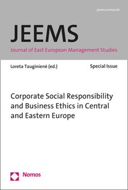 Abbildung von Tauginiené | Corporate Social Responsibility and Business Ethics in Central and Eastern Europe | 2019 | Journal of East European Manag...