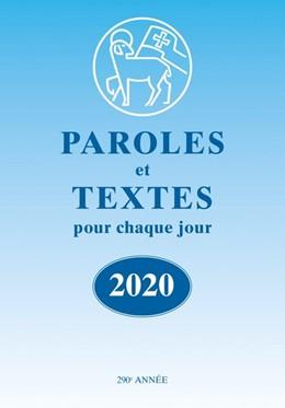 Abbildung von Herrnhuter Brüdergemeine   Paroles et Textes 2020 - Die Losungen   1. Auflage   2019   beck-shop.de