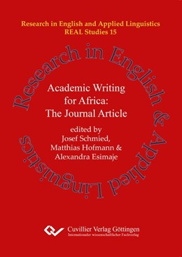 Abbildung von Schmied / Hoffmann / Esimaje   Academic Writing for Africa: The Journal Article (Band 15)   2019