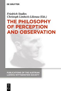 Abbildung von Stadler / Limbeck-Lilienau | The Philosophy of Perception | 1. Auflage | 2019 | beck-shop.de