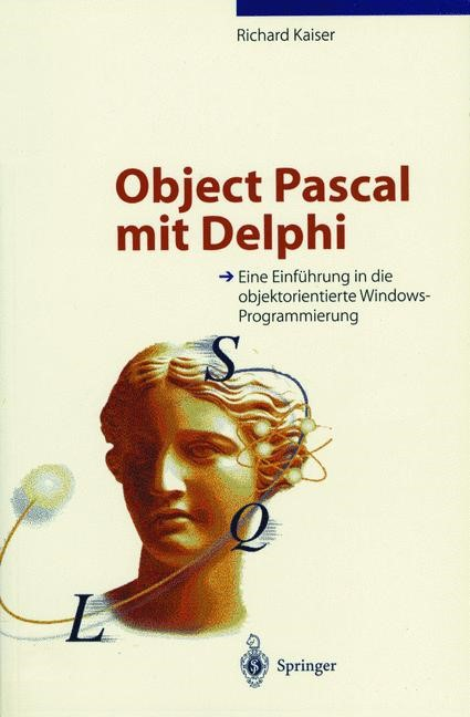Object Pascal mit Delphi | Kaiser, 1996 | Buch (Cover)