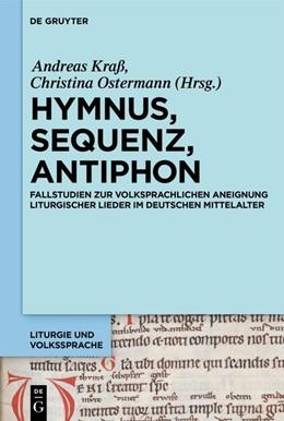 Abbildung von Kraß / Ostermann | Hymnus, Sequenz, Antiphon | 1. Auflage | 2019 | beck-shop.de