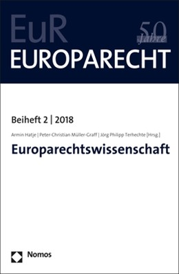 Abbildung von Hatje / Müller-Graff | Europarechtswissenschaft | 1. Auflage | 2018 | beck-shop.de