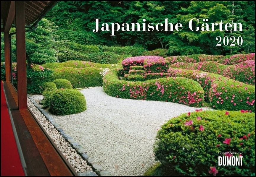 Japanische Gärten 2020   DUMONT Kalenderverlag, 2019 (Cover)