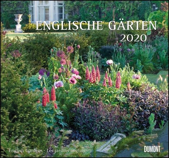 Englische Gärten 2020 - DUMONT Garten-Kalender - mit allen wichtigen Feiertagen - Format 38,0 x 35,5 cm | Dumont Kalenderverlag, 2019 (Cover)