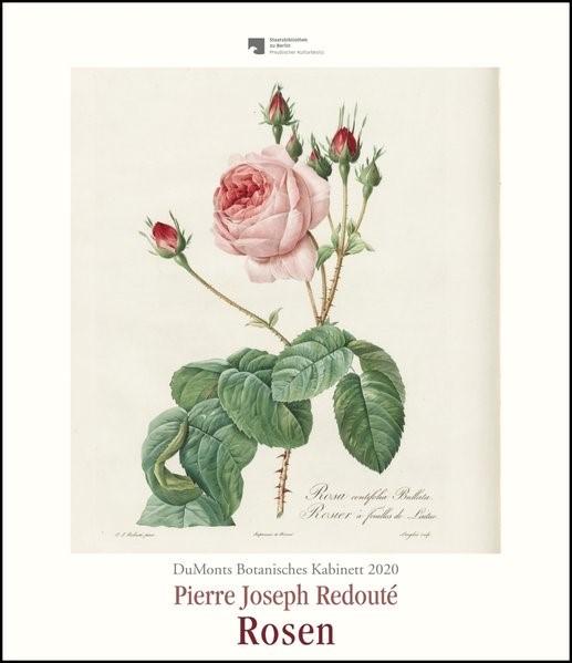 DuMonts Botanisches Kabinett - Rosen von P.J. Redouté - Kunstkalender 2020 - Wandkalender im Hochformat 34,5 x 40 cm | Dumont Kalenderverlag, 2019 (Cover)