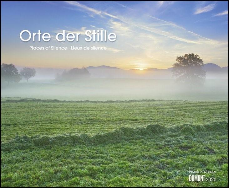 Orte der Stille 2020 - Wandkalender 52 x 42,5 cm - Spiralbindung | Dumont Kalenderverlag, 2019 (Cover)