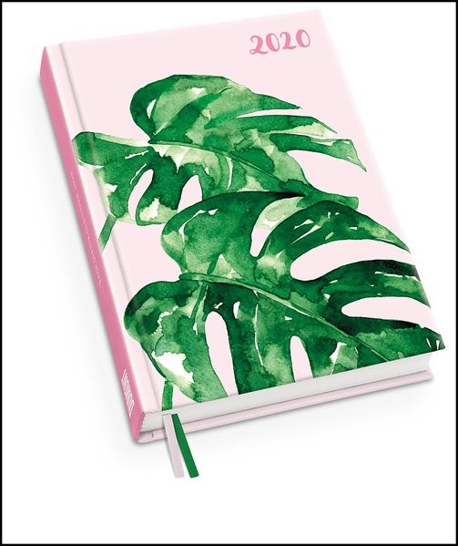 Taschenkalender Watercolor 2020 - May & Berry | Dumont Kalenderverlag, 2019 (Cover)