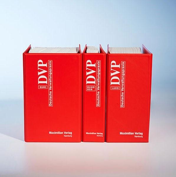 DVP Bund u. Land Sachsen-Anhalt   Loseblattwerk mit 92. bzw. 29. Aktualisierung (Cover)