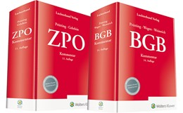 Abbildung von Prütting / Wegen / Weinreich / Gehrlein (Hrsg.) | BGB Kommentar 14. Auflage und ZPO Kommentar 11. Auflage • Set | 2019