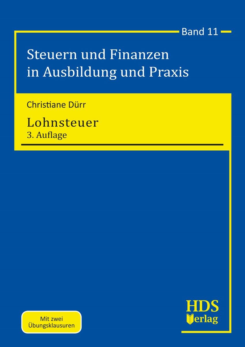 Lohnsteuer | Dürr | 3. Auflage, 2019 | Buch (Cover)