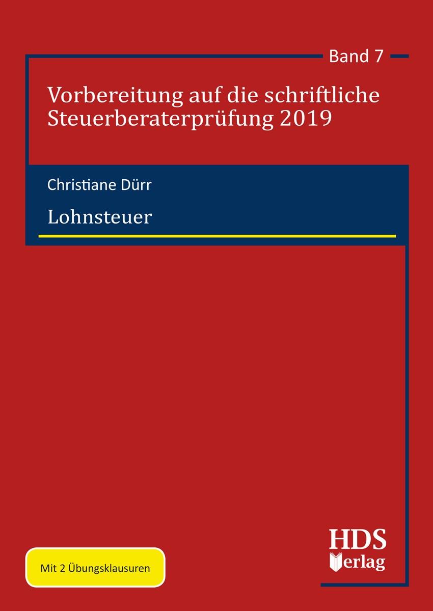 Abbildung von Dürr   Lohnsteuer   2019