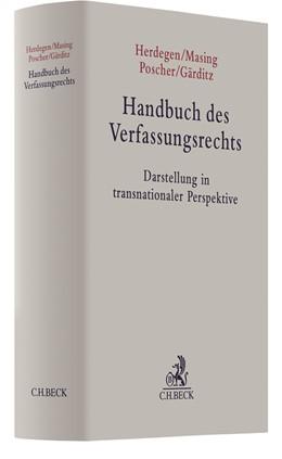 Abbildung von Herdegen / Masing   Handbuch des Verfassungsrechts   1. Auflage   2021   beck-shop.de
