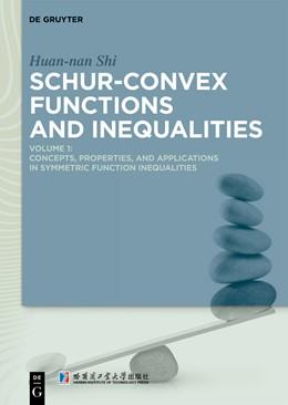 Abbildung von Shi | Schur-Convex Functions and Inequalities | 1. Auflage | 2019 | beck-shop.de