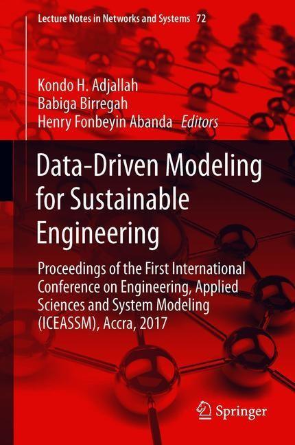 Data-Driven Modeling for Sustainable Engineering | Adjallah / Birregah / Abanda | 1st ed. 2020, 2019 | Buch (Cover)