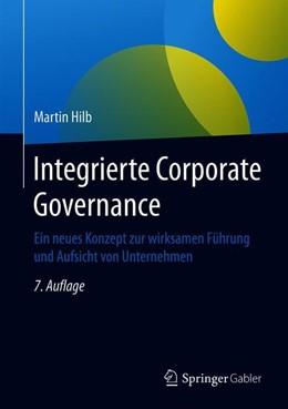 Abbildung von Hilb   Integrierte Corporate Governance   7. Auflage   2019   beck-shop.de