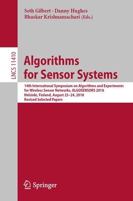 Abbildung von Gilbert / Hughes / Krishnamachari | Algorithms for Sensor Systems | 1st ed. 2019 | 2019 | 14th International Symposium o... | 11410