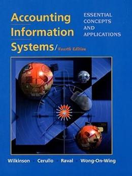 Abbildung von Wilkinson / Cerullo / Raval | Accounting Information Systems | 1999