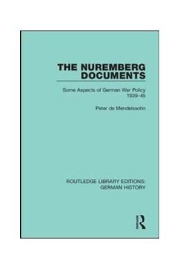 Abbildung von de Mendelssohn | The Nuremberg Documents | 1. Auflage | 2019 | 31 | beck-shop.de