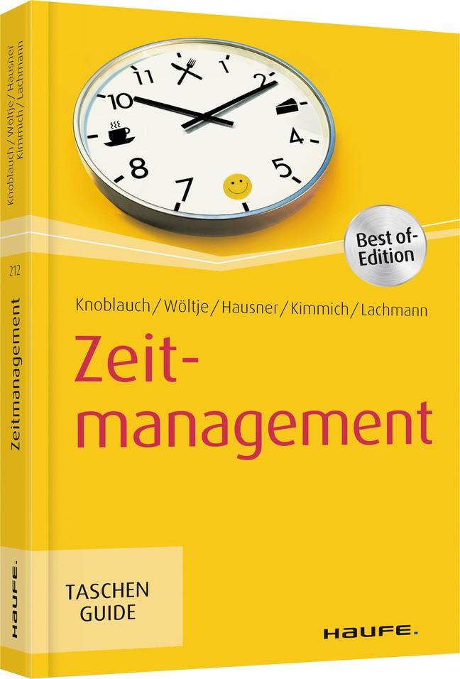 Zeitmanagement | Knoblauch / Wöltje / Hausner | 4. Auflage 2019, 2019 | Buch (Cover)