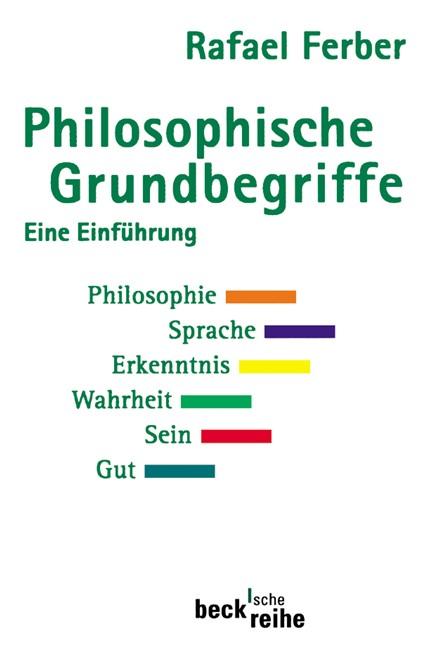 Cover: Rafael Ferber, Philosophische Grundbegriffe 1