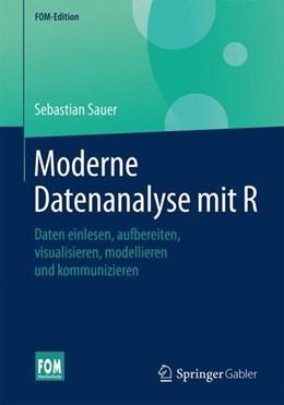 Abbildung von Sauer | Moderne Datenanalyse mit R | 1. Aufl. 2019 | 2019 | Daten einlesen, aufbereiten, v...