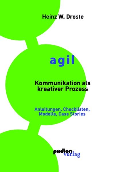 AGIL - Kommunikation als kreativer Prozess   Droste, 2019   Buch (Cover)