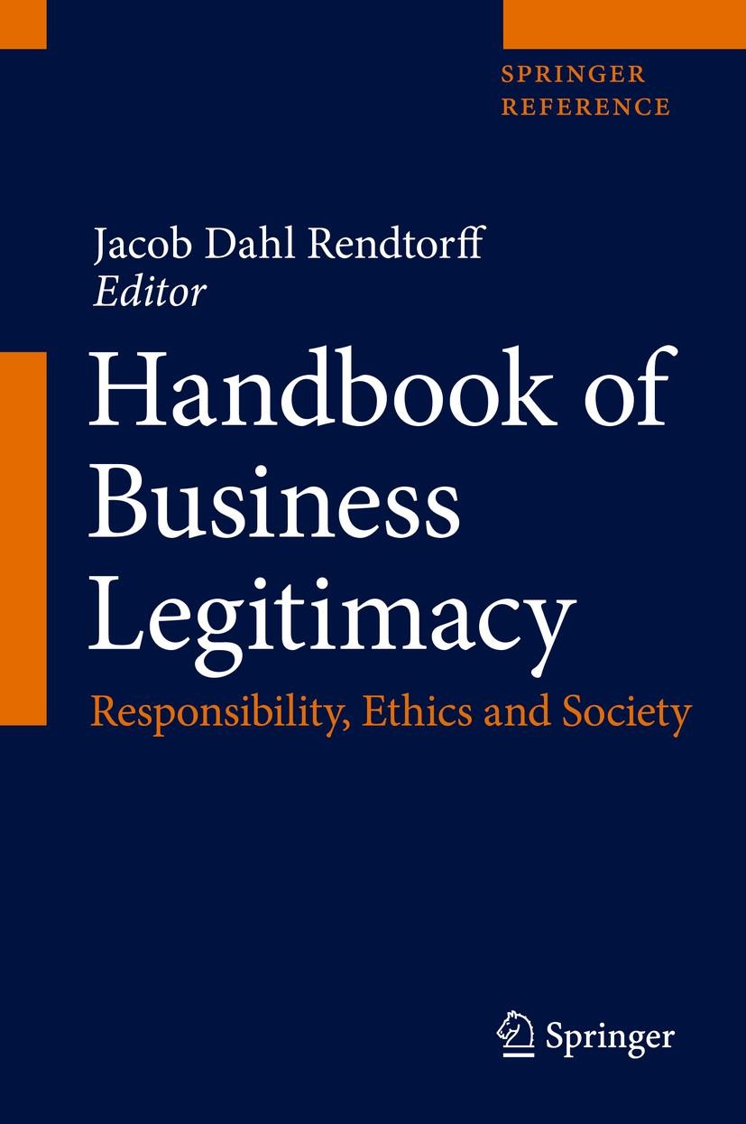 Abbildung von Rendtorff | Handbook of Business Legitimacy | 1st ed. 2020 | 2020