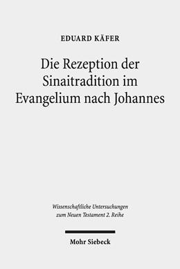 Abbildung von Käfer | Die Rezeption der Sinaitradition im Evangelium nach Johannes | 2019