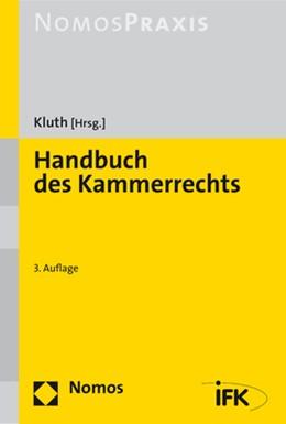 Abbildung von Kluth | Handbuch des Kammerrechts | 3. Auflage | 2020