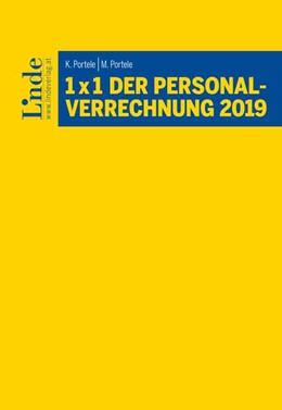 Abbildung von Portele   1 x 1 der Personalverrechnung 2019   2. Auflage 2019   2019