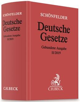 Abbildung von Schönfelder | Deutsche Gesetze Gebundene Ausgabe II/2019 | 2019