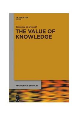Abbildung von Powell | The Value of Knowledge | 2020 | The economics of enterprise kn...