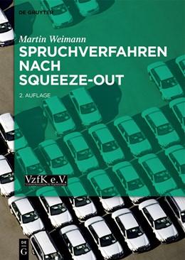 Abbildung von Weimann   Spruchverfahren nach Squeeze-Out   2. Auflage   2021   beck-shop.de