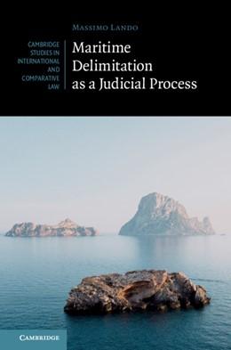 Abbildung von Lando | Maritime Delimitation as a Judicial Process | 2019 | 144