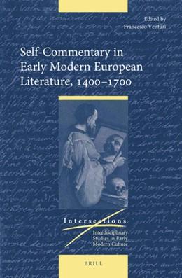 Abbildung von Venturi | Self-Commentary in Early Modern European Literature, 1400-1700 | 2019 | 62
