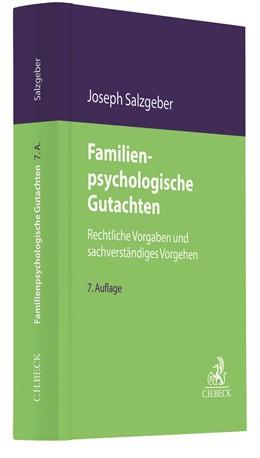 Abbildung von Salzgeber   Familienpsychologische Gutachten   7. Auflage   2020   Rechtliche Vorgaben und sachve...