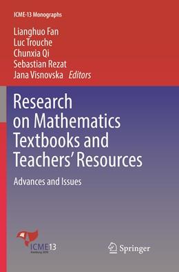 Abbildung von Fan / Trouche   Research on Mathematics Textbooks and Teachers' Resources   1. Auflage   2019   beck-shop.de
