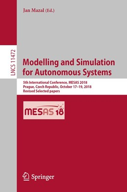 Abbildung von Mazal | Modelling and Simulation for Autonomous Systems | 1st ed. 2019 | 2019 | 5th International Conference, ...